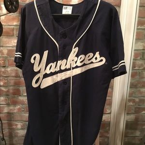 New York Yankees vintage MLB Russell jersey